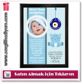 bebeklere özel sertifika