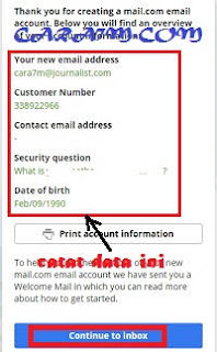 Cara Mudah Membuat Email Gratis di Mail.com