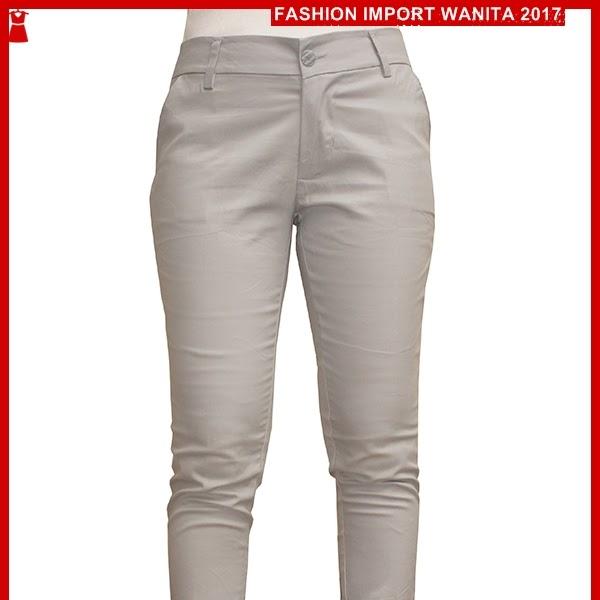 ADR097 Celana Grey Light Panjang Chino Import BMGShop