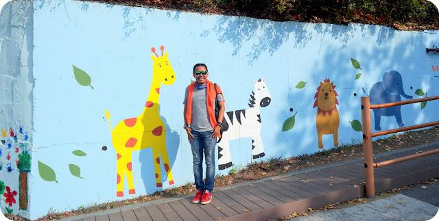 Ihwa Mural Village Seoul Korea Selatan