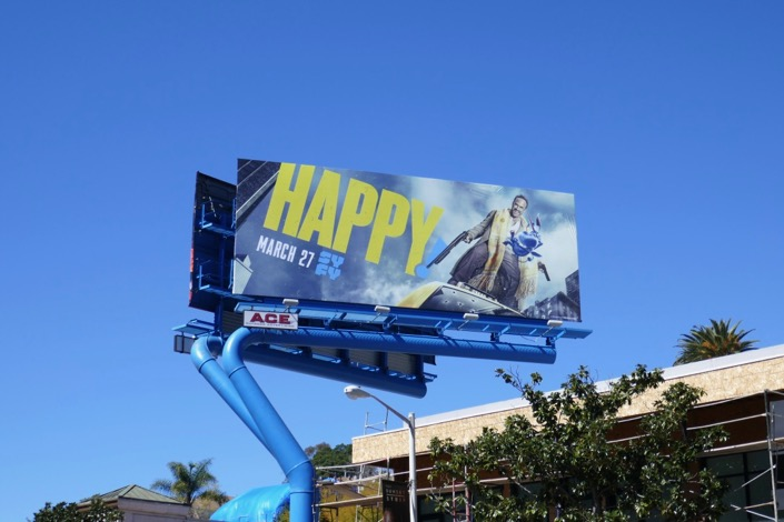 Happy season 2 billboard