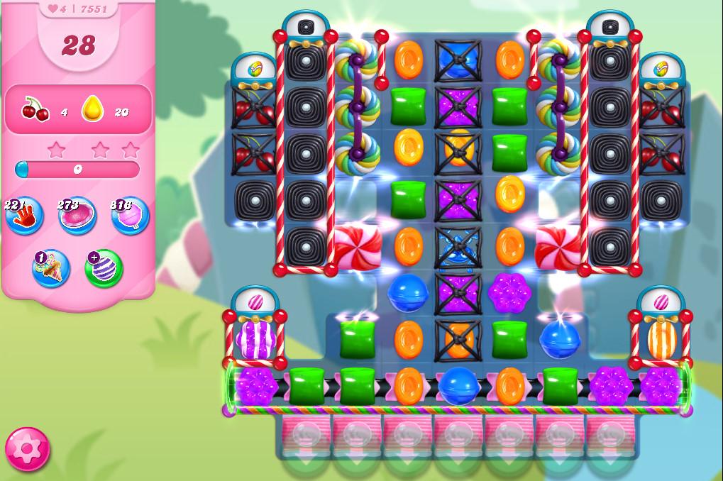 Candy Crush Saga level 7551