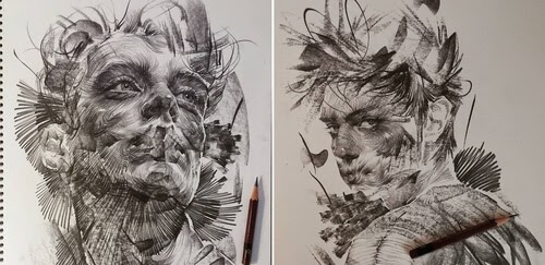 00-Lee-K-Lines-and-Swirls-Pencil-and-Charcoal-Portraits-www-designstack-co
