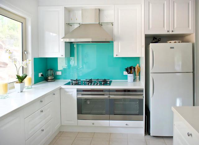 Frontal panel acrílico para la cocina