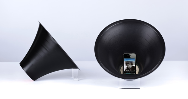 Change the Record - Vinyl iPhone Amplifier