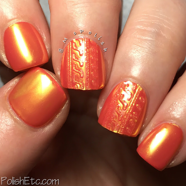 Metallic Nails for the #31DC2018Weekly - McPolish