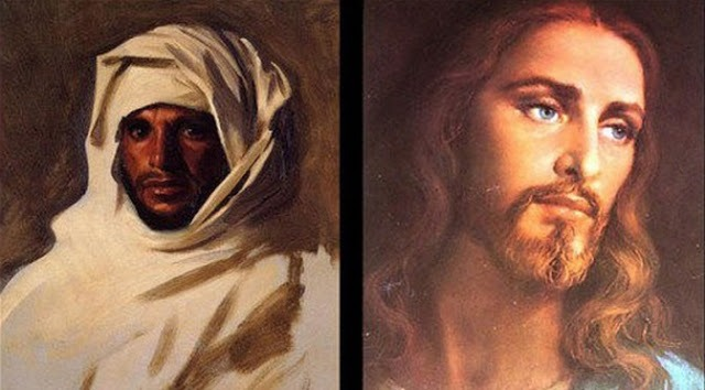 jesus was not a white man