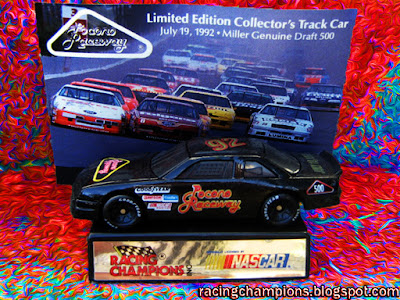 1992 Miller Genuine Draft Pocono car Racing Champions 1/64 NASCAR diecast blog Davey Allison Darrell Waltrip