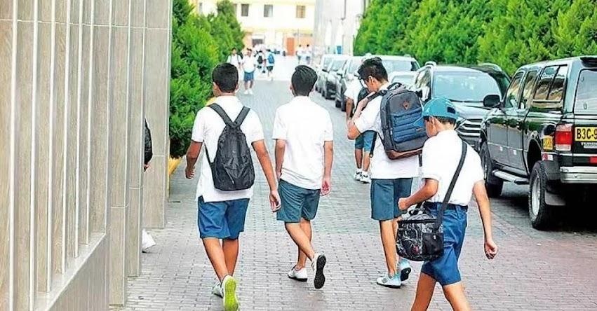 Colegios privados deben reducir pensión según gastos actuales, plantea la bancada de Podemos Perú