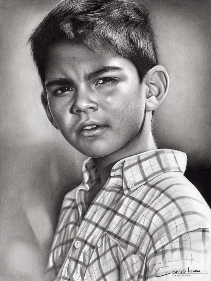 Рисунки карандашом. Charles Laveso 9