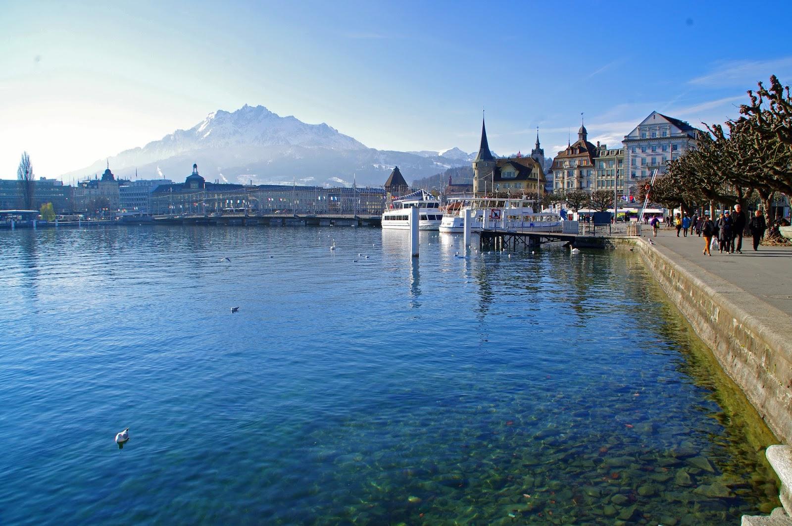 Hotel Schweizerhof Luzern Location Lakeside