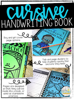 Learning to write in cursive has many cognitive advantages. Help students master cursive handwriting with this fun handwriting unit. There are over 120 pages of activities to help sharpen handwriting, including uppercase & lowercase practice, word writing, paragraph writing, and search and graph. Use the pages as standalone practice, or turn them into a handwriting book that can be used all year long!