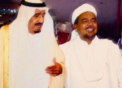 Ada Pertemuan Khusus, Raja Salman Dikabarkan Prioritaskan Tatap Muka dengan HRS