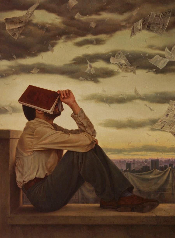 Tonturas - Iman Maleki e suas pinturas realistas ~ Pintor iraniano