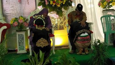 resepsi pernikahan agung