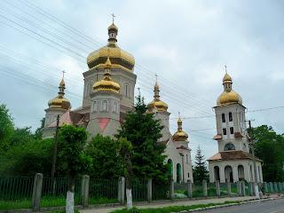 Ходорів. Храм святих безсрібників Косми і Даміана.