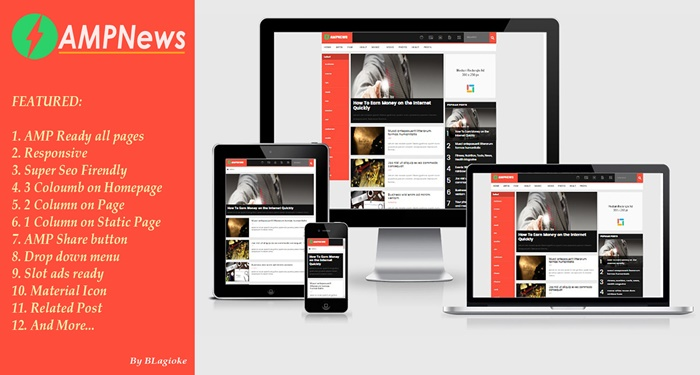 AMPNews: Template Valid AMP HTML