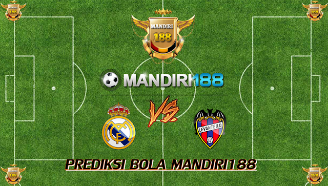 AGEN BOLA - Prediksi Real Madrid vs Levante 9 September 2017