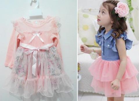 pakaian anak perempuan 2 tahun