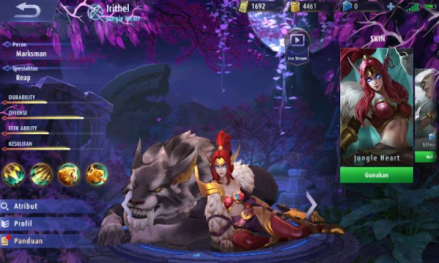 Memilih Build Item Irithel Mobile Legends : Damage Terkuat