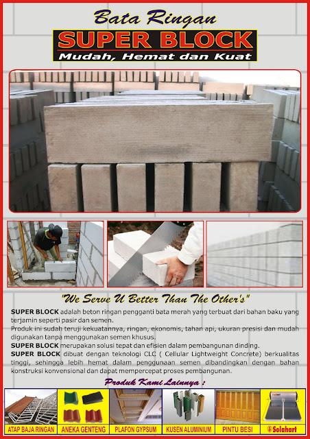 rangka atap baja ringan murah jakarta sukses mandiri teknik: harga dan ukuran bata batako ...