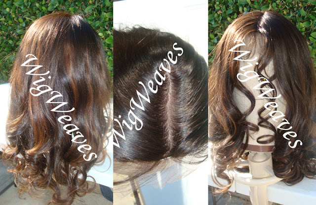 Custom Free Parting Lace Wigs