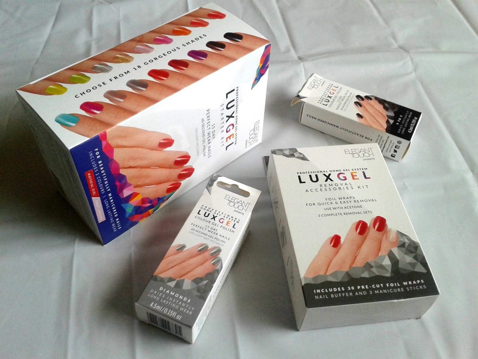 Elegant Touch Lux Gel Polish Kit Christmas