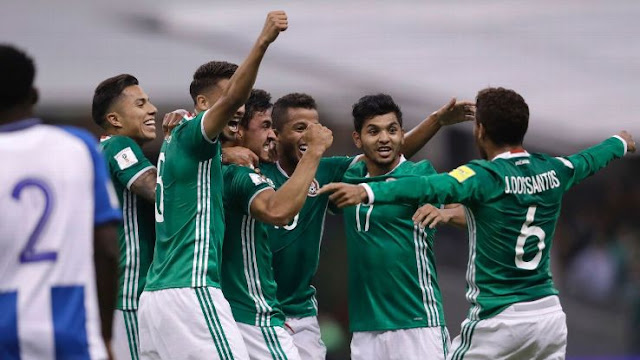 México 3-0 Honduras Eliminatorias Rusia 2018