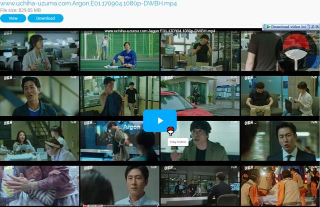 Screenshots  Full Movie Drama Korea Argon aka Areugon aka Arogon aka 아르곤 (2017) Episode 01 1080p 720p 480p 360p Subtitle English Indonesia MP4 Uptobox Openload ClicknUpload