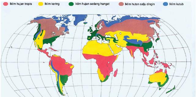 Soal Geografi : Atmosfer dan Dampaknya terhadap Kehidupan