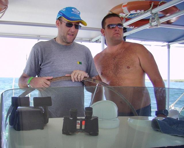 Navegando en Catamarán por Varadero