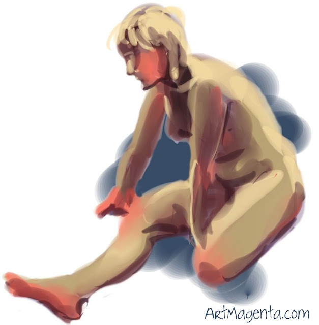 Life drawing from ArtMagenta.com