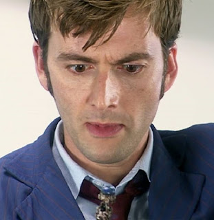 10th Doctor blue suit + tie