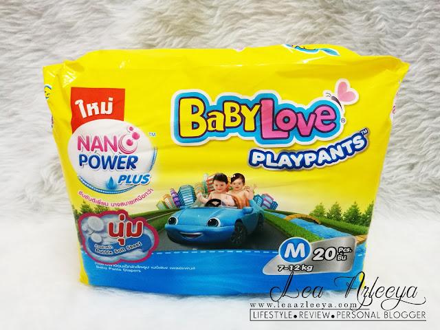 Baby Love Playpants Dengan Nano Power Plus Tahan Kebocoran