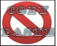 No Copy-paste