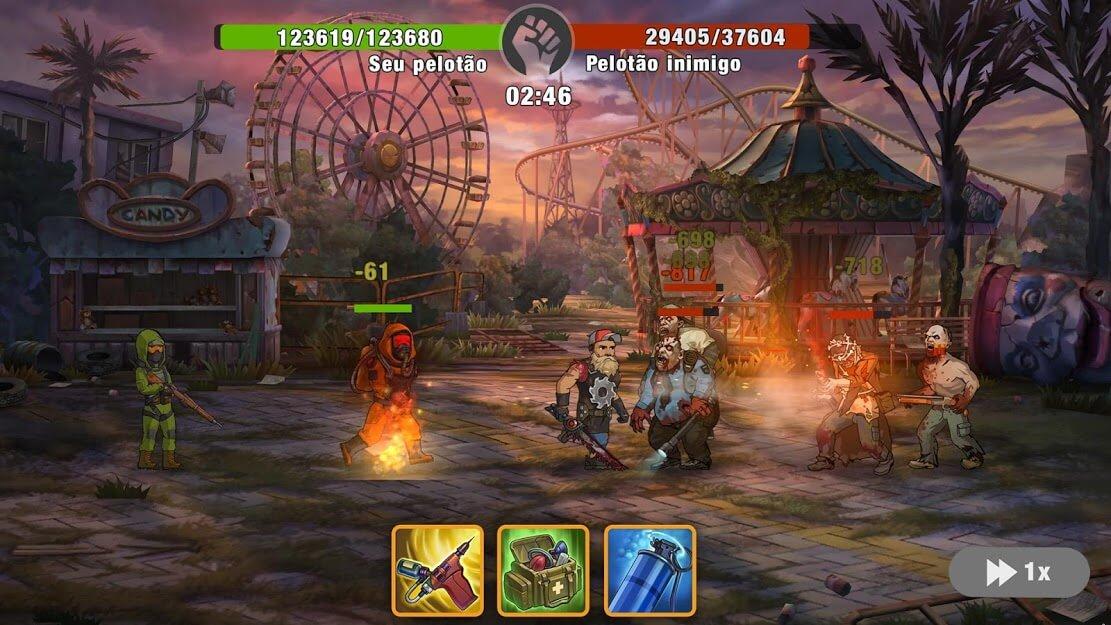 Zero City APK MOD MENU Alto Dano / Defesa 2021 v 1.25.0
