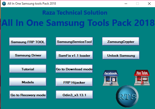 All In One Samsung tools Pack 2018