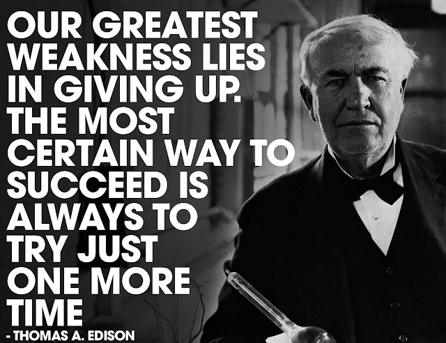 Thomas Edison Quoted
