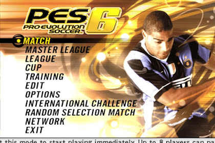 PES 6 (Pro Evolution Soccer 6)