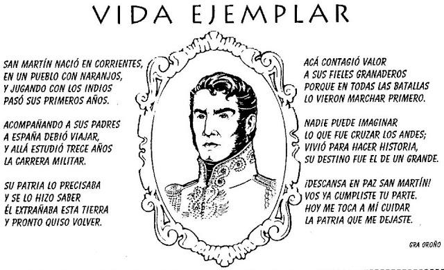 videa del general San Martín