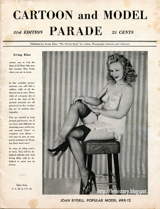 Cartoon and Model Parade, Joan Rydell