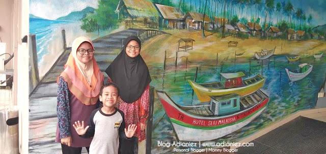 Bermalam Di Hotel Seri Malaysia & Bersiar-siar di Waterfront Kuala Terengganu