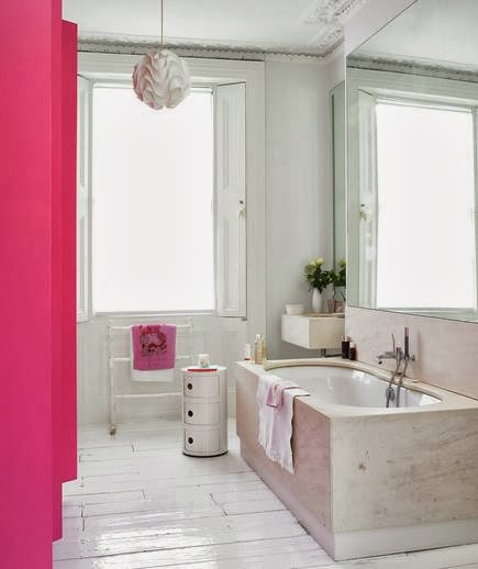 Pink And White Bathroom: To Da Loos: Pink Bathrooms, Yes Pretty Ones
