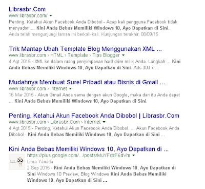 Google plus masuk ke Google Search