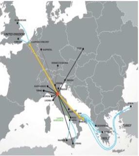 Porto di Brindisi: entra in funzione il raccordo ferroviario di Costa Morena