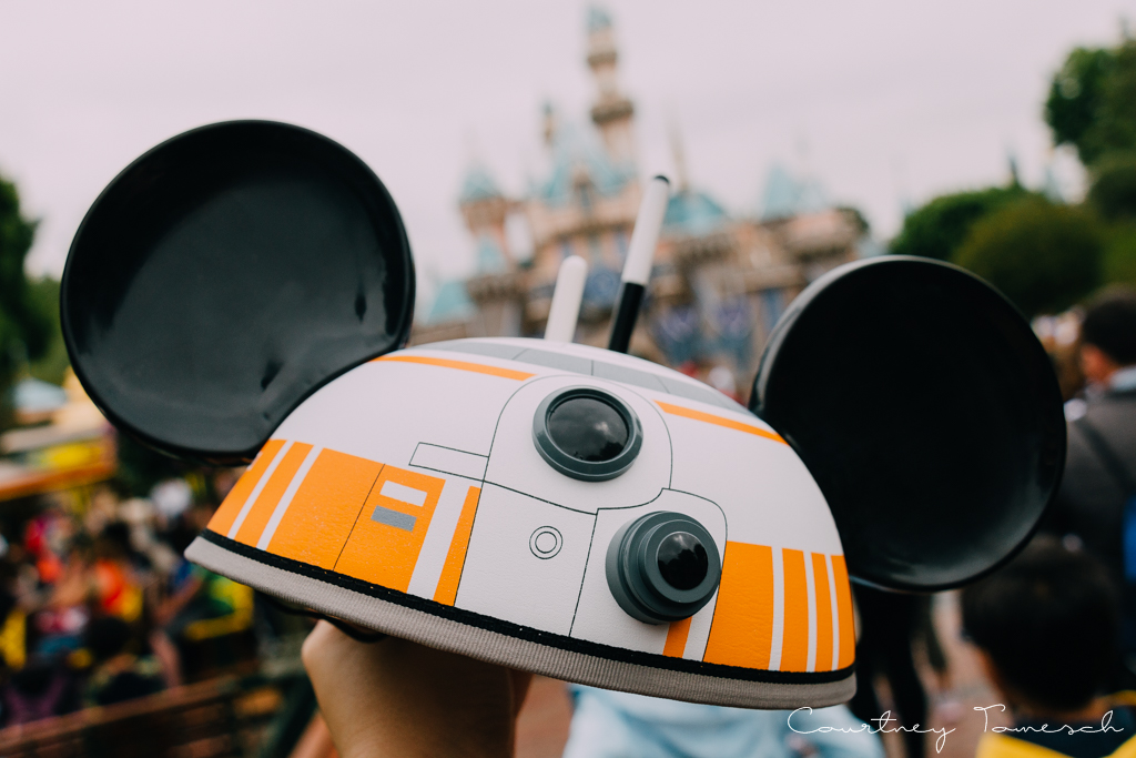 Courtney Tomesch Disneyland BB8 Ears Star Wars