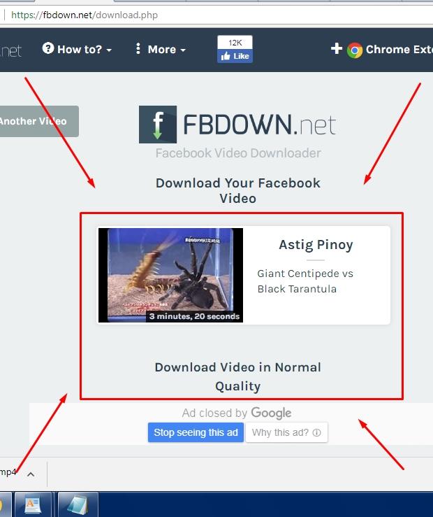 Cara Menyimpan Video Di Facebook Menggunakan Fbdown.net Terbaru 2019 ii
