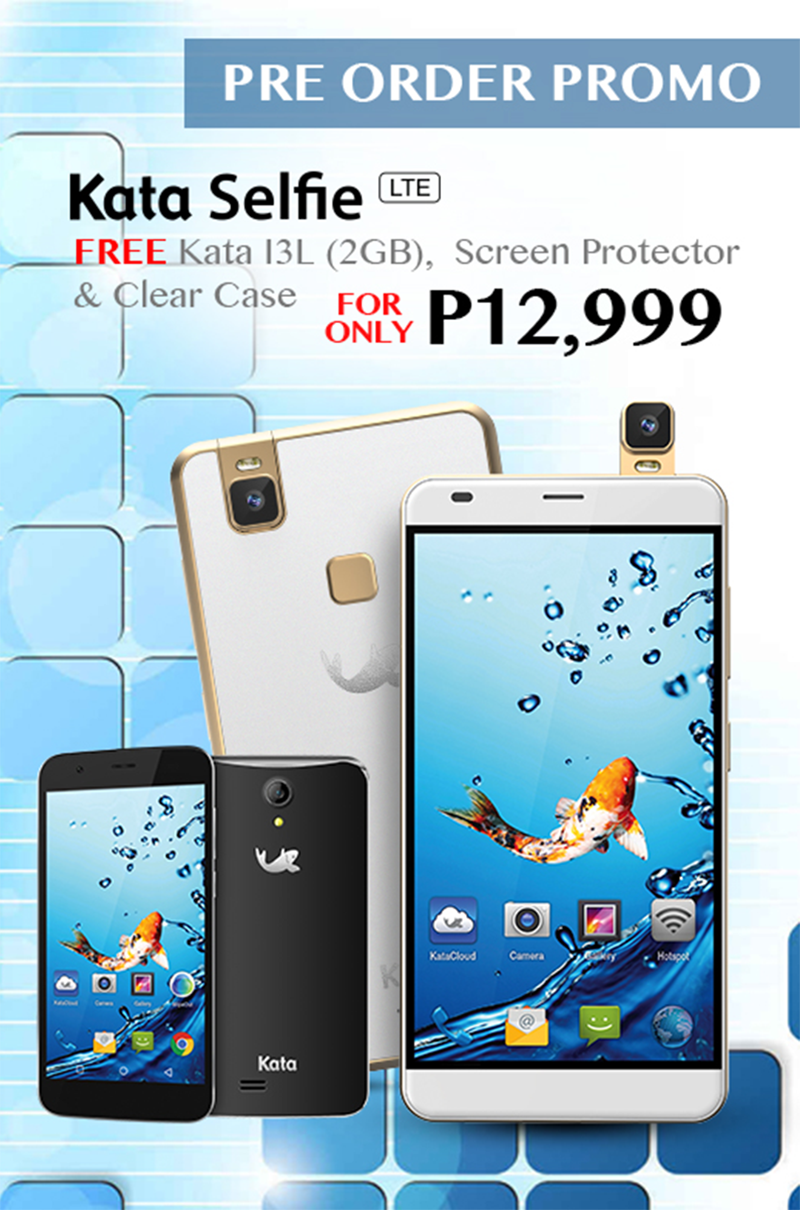 Get The Kata Selfie And Kata i3L For 12999 Only!