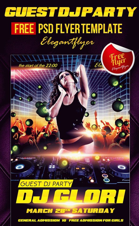 99 Best Party & Club Flyer PSD Templates - Graphic Design
