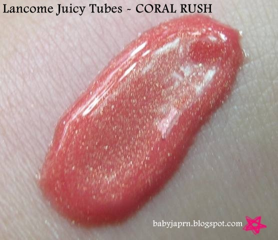 The Pink Thought Bubble by BabyJap: Lancome Juicy Tubes